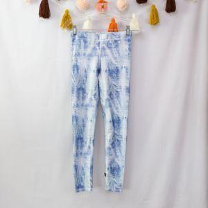 Terez Tie Dye Denim-Look Leggings NWT